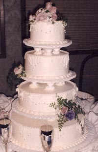 Vancouver Washington Wedding cakes